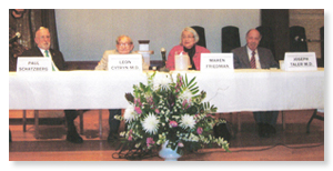 Pannel Discussion at Temple Beth Shalom 1